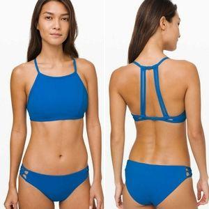 NWOT Lululemon See the Sea bikini set